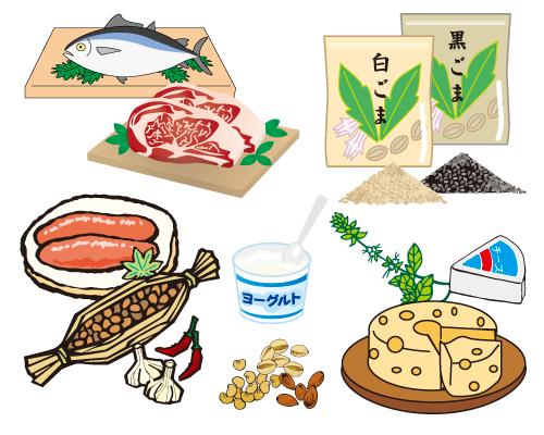 セロトニンを増やす食材